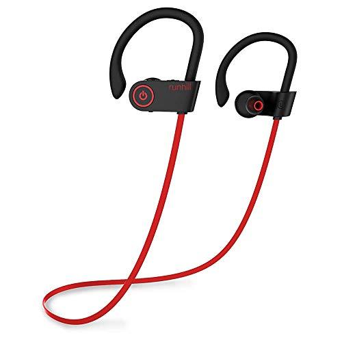 Runhill Bluetooth Kopfhörer, IPX7 Wasserdicht Kopfhörer Sport, 7-10 Stunden Spielzeit, Rich Bass, Sportkopfhörer Joggen/Laufen Bluetooth 4.1 für iPhone Android