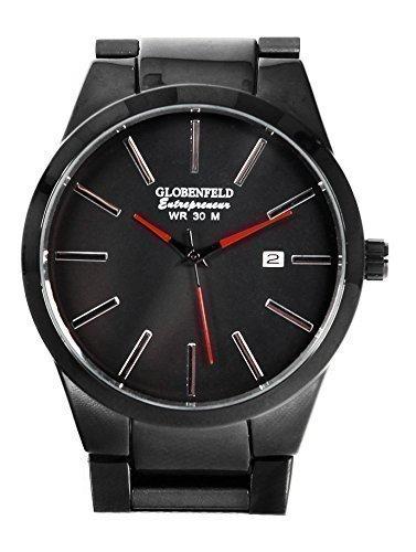 Limited Edition Unternehmer Herren Armbanduhr Analog Quarz–Einzigartige Seriennummer und schöne Geschenkbox 5Jahre Platinum Garantie.