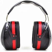Preisvergleich für Gehörschutz Gehörschutz Geräuschunterdrückung Gehörschutz Lärmschutz für Lernen und Arbeit (Rot + Schwarz)