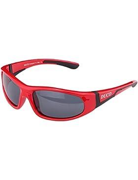Duco Kinder Sonnenbrille Polarisierte Sportbrille für Jungen und Mädchen