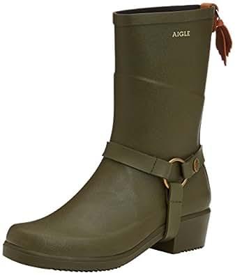 Regen-Stiefel Aigle Miss Julie Schwarz Damen-Schuhgröße 38 Schuhgröße 38 Schwarz zpr5kczRug