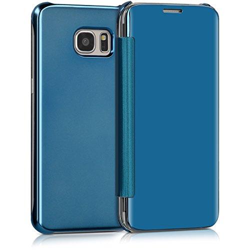 kwmobile-spiegel-flip-case-fr-samsung-galaxy-s7-edge-klapp-hlle-cover-in-blau