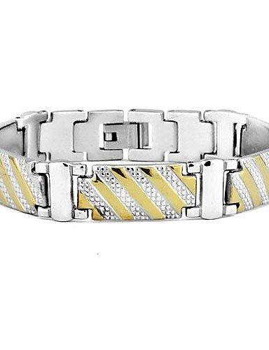 Braccialetto dei monili di modo Dichiarazione all'ingrosso braccialetti braccialetti dell'acciaio inossidabile 316L degli uomini ,