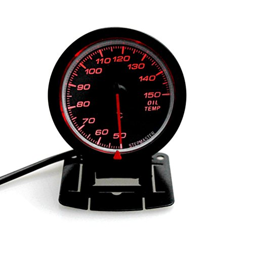 WINOMO Auto Öl Temperatur Indikatoren 12V 150 Celsius Auto Öl Temp Gauge für Limousine SUV BUS Truck Boat
