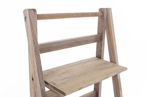 Scaletta In Legno Pieghevole : Clp scaffale a scaletta kirsten scaffale in legno 4 ripiani i
