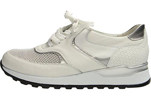 Waldläufer 364018 503 663, Scarpe stringate donna bianco bianco Bianco
