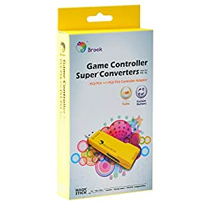 Mcbazel Brook ZPP004Q PS3 / PS4 auf PS3 / PS4 Super-Converter-Controller Spiele-Adapter mit FREE Keychain