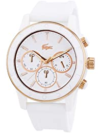 Lacoste Damen-Armbanduhr Analog Quarz Silikon 2000798