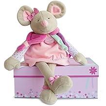 Doudou et Compagnie dc2981Ratón Pearly grandes muñeca