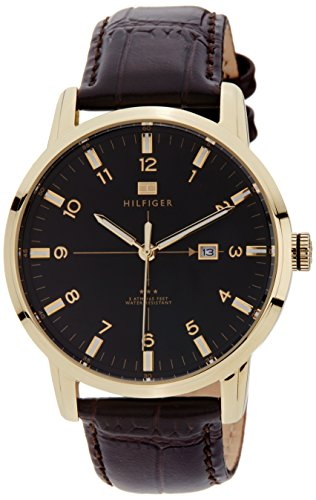Tommy Hilfiger Analog Black Dial Men's Watch - TH1710329J