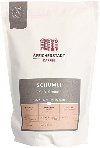 Speicherstadt Kaffeerösterei - Schümli Café Crème - 500g