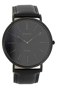Oozoo Unisex-Uhr Datum Quarz mit Lederarmband – C7301
