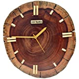 [Sponsored]Just Frames Hand Crafted Decorative Wooden Fancy Wall Clock JF201