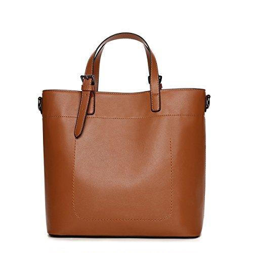 Einfache DHFUD Handtasche Der Yellow Einfache Kapazität Beutel Hohe PU Schulter Frauen Crossbody p8CwOpq