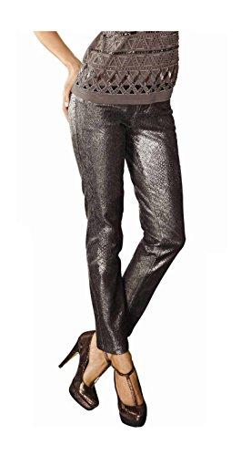 Alba Moda -  Jeans  - Opaco - Donna oro-nero