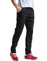 d9f006af975ab9 URSING Herren Sport Hose Hip Hop Joggen Jogginghose Übergröße Jogger Pants  Einfarbig Sweatpants Klassische Freizeithose Gemütlich
