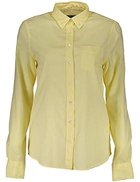 Gant 1701.432195 Camisa con Las Mangas largas Mujer Giallo 713 36