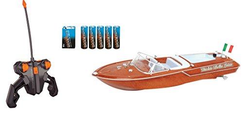 Preisvergleich Produktbild Dickie Toys 201119067 - RC Boat Bella Luisa, funkferngesteuertes Boot mit 30 Metern Reichweite, 45 cm