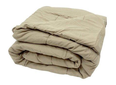 Super weiche aus ägyptischer Baumwolle, Fadenzahl 300, Schmusetuch mit Blatt 300 g/m², Super-King-Betten aus UK, Taupe 300tc, 100% Baumwolle -