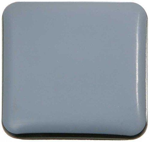 SBS Teflongleiter | eckig 50x50mm | selbstklebend | 16 Stück | Möbelgleiter für Stühle, Schrank, Tische uvm.