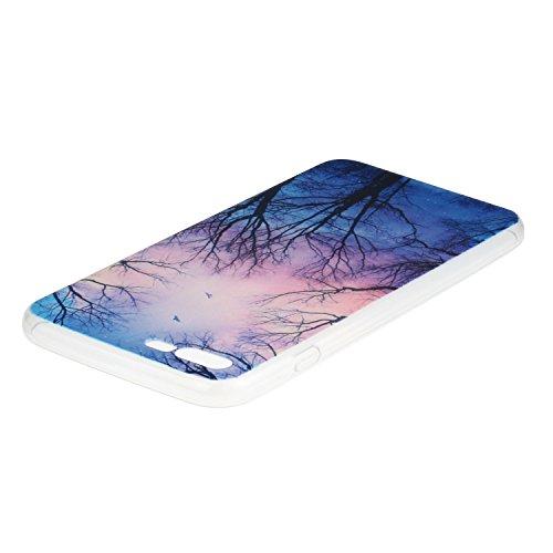 Voguecase® Pour Apple iPhone 7 4,7, TPU Silicone Shell Housse Coque Étui Case Cover (crayon 01)+ Gratuit stylet l'écran aléatoire universelle Un grand arbre 01