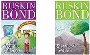Ruskin Bond - Tales From The Childhood + Ruskin Bond - Stories Of Wisdom (Set of 2 Books)