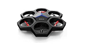 Makeblock Airblock, Robot Volant Modulaire et Programmable, Drone et aéroglisseur transformables Multiforme, Easy Magnetic Assembly, 4 Prix internationaux du Design, Noir