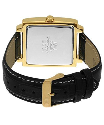 buy and compare q q s210 102y shogun analog watch for men online q q shogun analog black dial men s watch