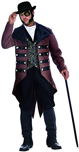 FORUM Erwachsene 's Herren Steampunk Jack Gentleman Kostüm Plus Größe X-Large 44-48