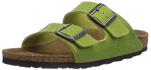 Birkenstock Arizona Vegan, Sabots femme Vert - Verde (Grün (GREEN))