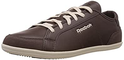 Reebok Classics Men's Royal Deck 2.0 Dark Brown,White And Blue Sneakers - 7.5 UK