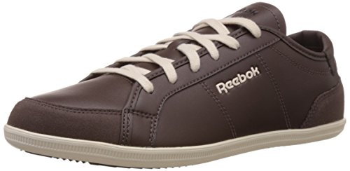 Reebok Classics Men's Royal Deck 2.0 Dark Brown,White And Blue Sneakers – 8 UK 41RoBsGbg4L