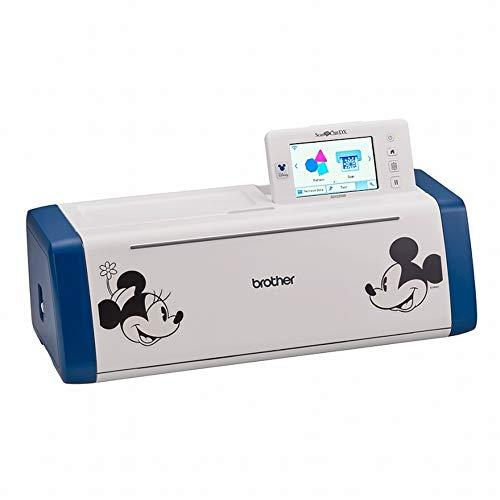 Brother ScanNCut SDX2200 Hobbyplotter Disney mit zusätzlich 132 einzigartigen Disney-Motiven zum Schneiden Scannen Prägen Gestalten ganz persönlicher Dinge