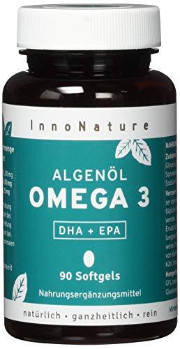 Vegane Omega 3 Kapseln aus Mikroalgenöl. 1875 mg Premium Omegavie® Algenöl mit DHA + EPA pro Tagesdosis. 90 Kapseln. Hochdosiert, hohe Bioverfügbarkeit, vegan (Algen) und hergestellt in DE.