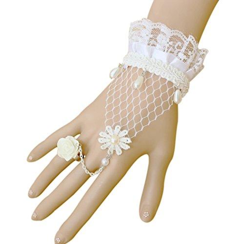 tiempo-pawnshop-blanco-encaje-con-perlas-de-rose-anillo-ajustable-wrap-pulsera