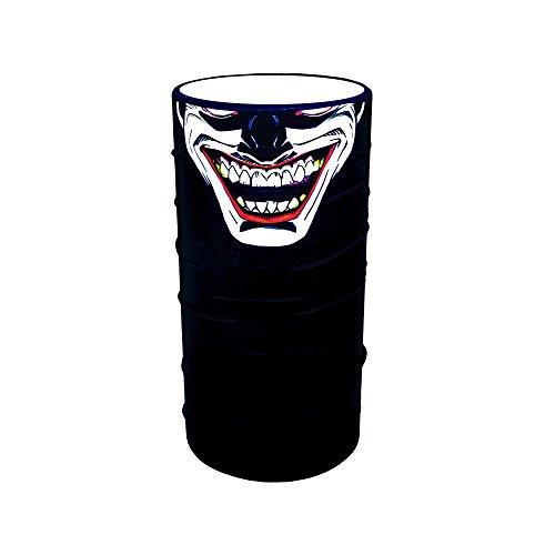 ZaPro HD Druck Premium - Multifunktionstuch - Verschiedene Designs Bedrucktes Halstuch Motorrad Sommer Frühling Totenkopf Skull Fastnacht Bunt Maske Joker Buff Tuch Venom (Joker)