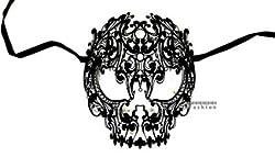 Devil Skull Laser Cut Venetian Masquerade Mask Event Party Ball Mardi Gars