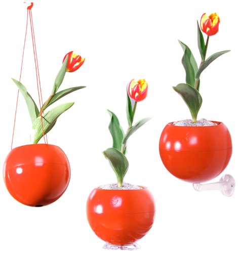 greenbo-greenball-macetero-con-3-soportes-y-reserva-de-agua-17-x-143-cm-color-naranja