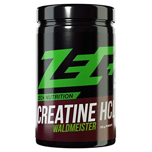 ZEC+ Creatin HCL Pulver 720 g, Kreatin-Pulver Geschmack Waldmeister -