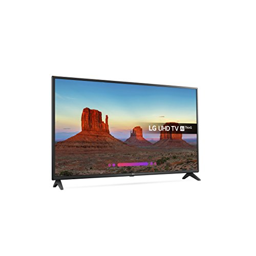 LG 49UK6200PLA 49-Inch 4K UHD HDR Smart LED TV with Freeview Play  2018 Model  - Black