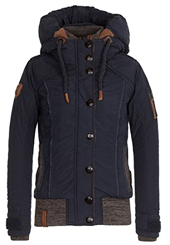 Naketano Female Jacket Shortcut IV Dark Blue, L