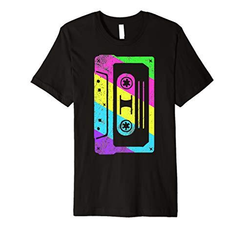 Kassette Tape Kostüm Shirt 80s 90s | Vintage -