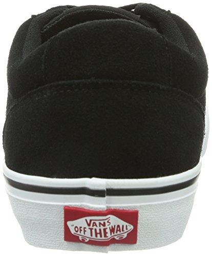 Vans M Winston, Baskets mode homme Noir (Black/White)