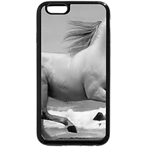 iPhone 6S Plus Funda, iPhone 6 Plus (Blanco y Negro) – Cheval