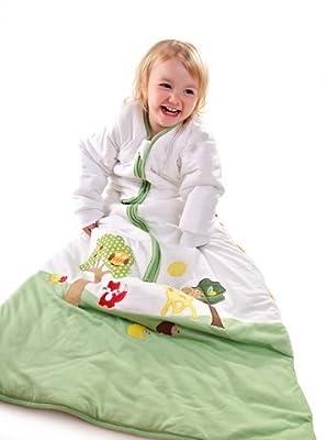 Slumbersac - Saco de dormir para bebé (manga larga, 2.5 tog, varias tallas: 0 meses a 6 años), diseño de amigos del bosque