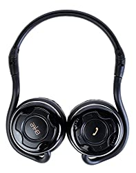 CORSECA DM5710BT On-the-ear Headphone with Mic (Black, On the Ear)
