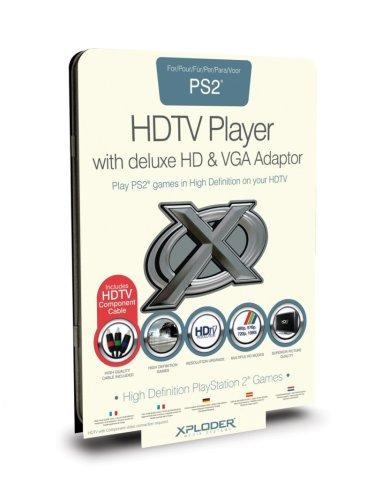 Playstation 2 - Xploder HDTV Player inkl. VGA-Adapter