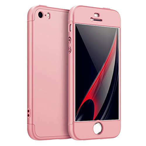 custodia iphone 8 360 gradi metallo