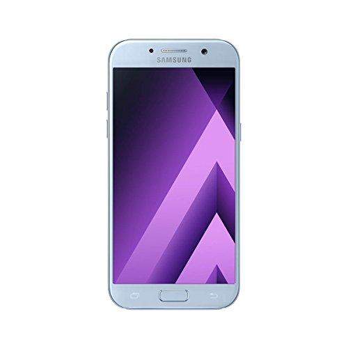Samsung Galaxy A3 (2017) - Smartphone Libre DE 4.7' (Android 6.0, Pantalla Super AMOLED, Cámara Trasera 13 MP Apertura F1.9 y Cámara Frontal 8 MP Apertura F1.9, 16 GB) [Versión Española] Azul