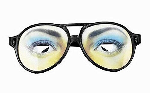 Lustige Party Brille Entzückende Glas-Parteiversorgungsblickfang Frauen